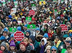 Hundreds of thousands join record-breaking U.S. March for Life