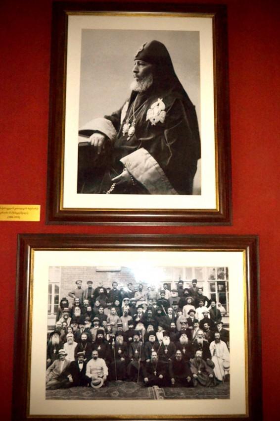 Здесь учился Католикос-Патриарх Кирион