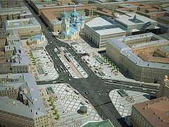 Reconstruction of the Church of the Savior on the Sennaya square begins in St. Petersburg