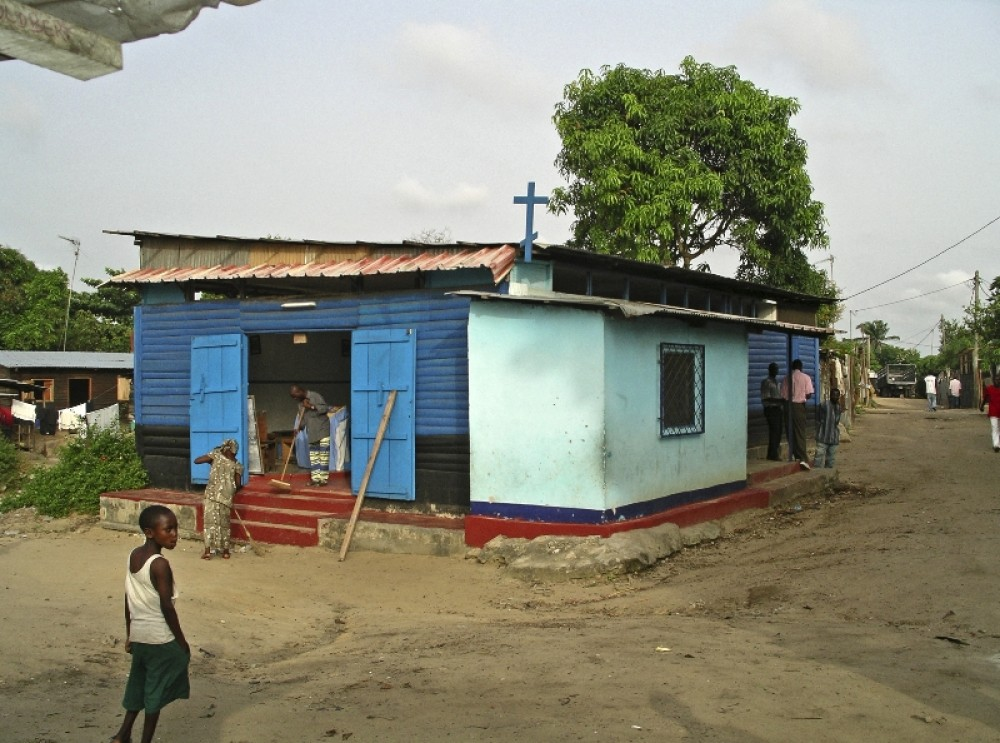 Церковь св. Спиридона Тримифунтского в Луеги, Браззавиль