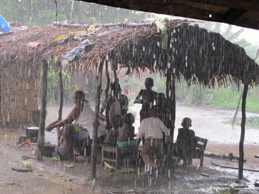Дождь в деревне