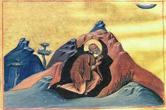 Преподобный Павел Препростый
