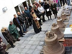 Bells of St. Mary Magdalene's Church blessed in Madrid