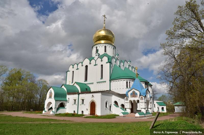 Феодоровский храм в Царском селе