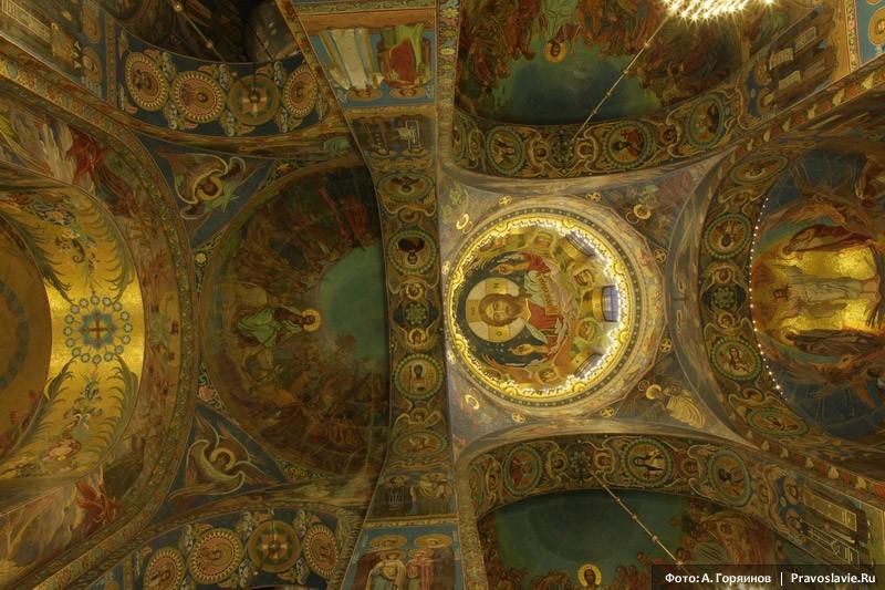 Храм Спаса-на-Крови. Мозаики
