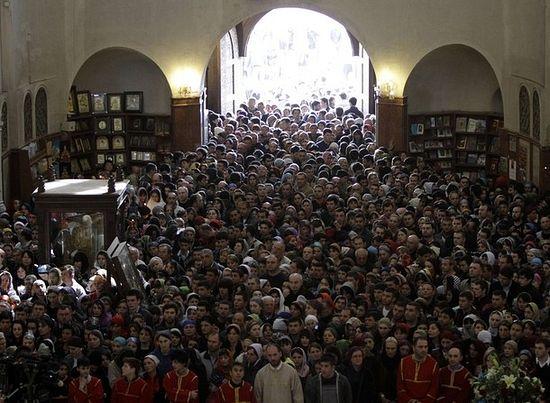 Грузинская Православная Церковь пользуется популярностью у 91% опрошенных
