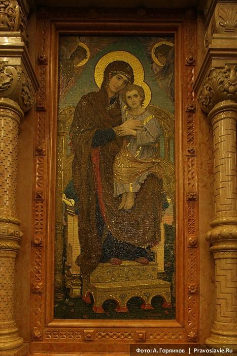 Икона Божией Матери работы Васнецова