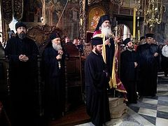 The Monastery Zographou on Mount Athos celebrates its patronal feast