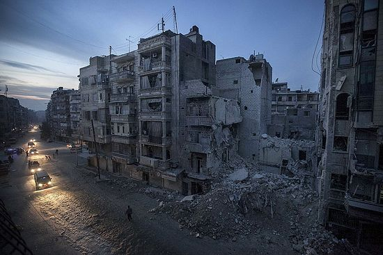 Алеппо, Сирия. Фото: Narciso Contreras / AP Photo