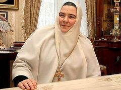 Беседа с настоятельницей Пюхтицкого монастыря игум. Филаретой