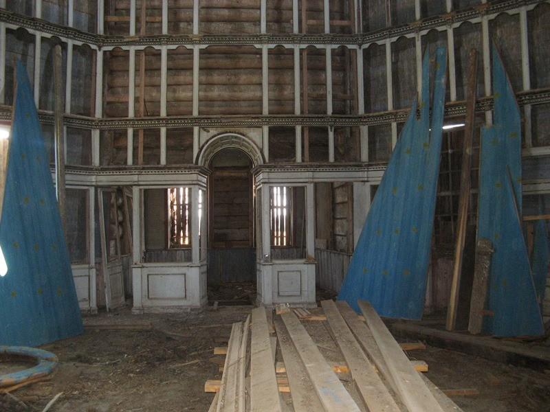 Красная Ляга. Сретенско-Михайловский храм, 1655 г.