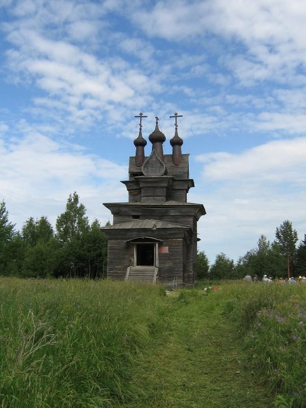 Пермогорье. Храм Георгия Победоносца, 1665 г.