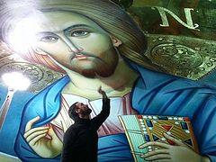 Н. Цилсавидис: «Самое важное для иконописца – связь с Богом»