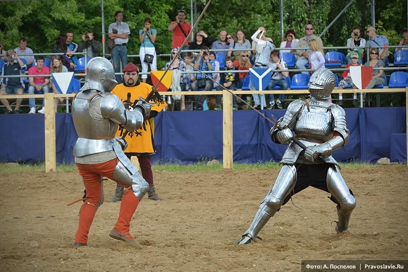 Бой пеших рыцарей