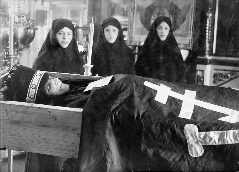 Отпевание монахини