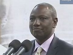 Video: Kenyan deputy president strongly rebuffs Obama on gay 'marriage': 'We believe in God'