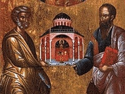 The apostles Peter and Paul / OrthoChristian Com