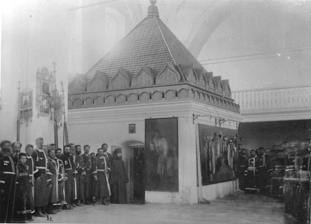 Часовня над келией прп. Серафима в храме Живоначальной Троицы