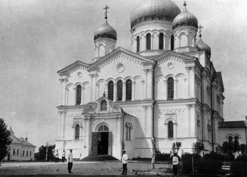 Троицкий Собор Серафимо-Дивеевского монастыря во время торжеств 1903 года