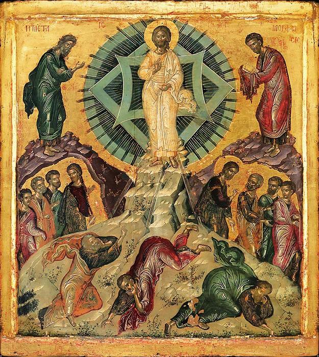 Преображение Господне. Икона. Византия
