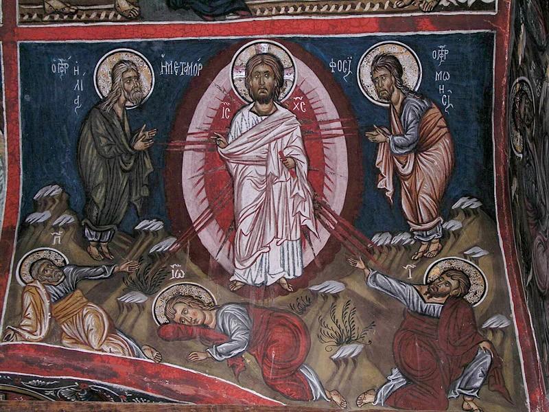 Преображение Господне. Фреска. Кипр
