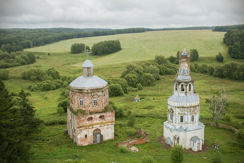 Ιερός Ναός Αγίας Σκέπης της Υπεραγίας Θεοτόκου και Ναός-Καμπαναριό του Αγίου Βασιλείου του Μεγάλου