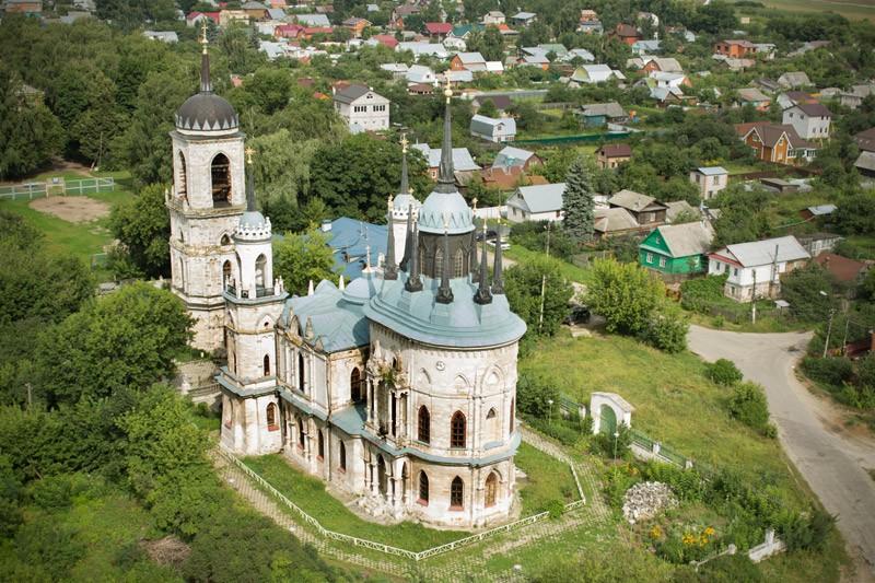 Ιερός Ναός της Παναγίας της Βλαντίμιρσκαγια στο χωριό Μπίκοβο