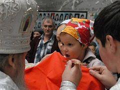 Archbishop Zosima of Vladikavkaz serves Divine Liturgy in School No. 1 in Beslan