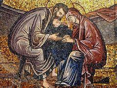 Кондак Романа Сладкопевца на Рождество Богородицы