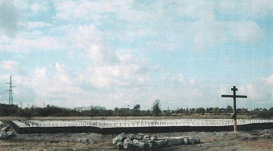 Начало строительства храма святителя Николая
