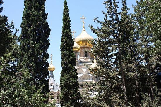 Монастырь св. Марии Магдалины. Гефсимания