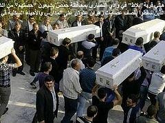 В Дамаске похоронили маленьких детей, убитых в христианском квартале