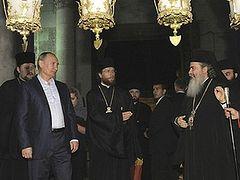 Russian Orthodox Church returns to Mideast
