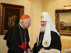 Патриарх Кирилл призвал Католическую церковь совместно противостоять христианофобии