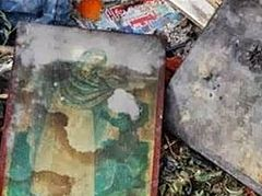 In the capital of Crete, churches vandalized and icons burned