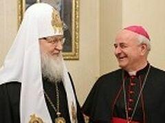 Патриарх Кирилл принял председателя Папского совета по делам семьи