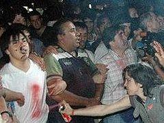 Около 7000 ЛГБТ-активисток напали на католический храм в Аргентине