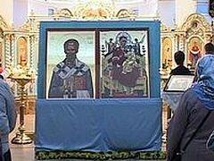 В Сочи привезли две иконы со Святой горы Афон