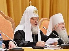 Доклад на епархиальном собрании города Москвы 20 декабря 2013 года