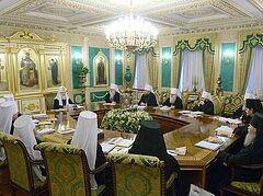 ЖУРНАЛЫ заседания Священного Синода от 25 декабря 2013 года