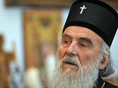 Serbs In KiM Are Not Forgotten – SPC Patriarch Irinej