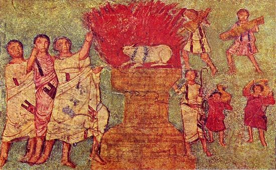 """La iconografía cristiana en las antiguas """"iglesias domésticas"""" - siglos I al IV 6"""