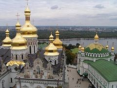 The Gifts of the Magi arrive at the Kiev Caves Lavra