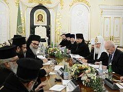 Состоялась братская беседа Предстоятелей Антиохийской и Русской Православных Церквей
