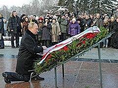 В. Путин принял участие в торжествах в честь 70-летия освобождения Ленинграда от блокады