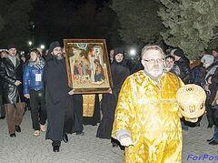 Севастополь встретил Дары волхвов