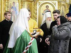 Патриарх Кирилл: Подлинная любовь всегда связана с самопожертвованием