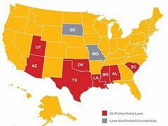 Восемь штатов США запретили пропаганду содомии