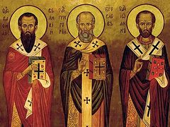 The Feast of the Three Holy Hierarchs—A Feast of Familial Holiness
