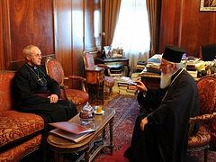 Archbishop of Canterbury meets Ecumenical Patriarch Bartholomew